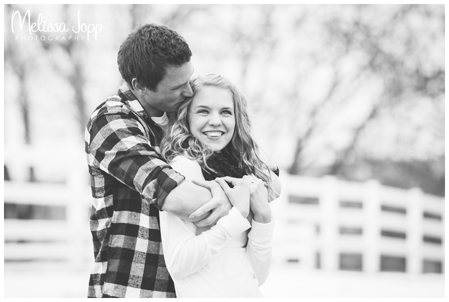 Sweet country engagement session with victoria mn engagement photographer