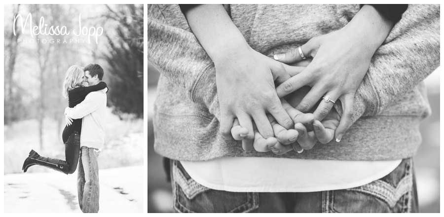 fun and sweet country engagement session with wedding and engagement photographer victoria mn