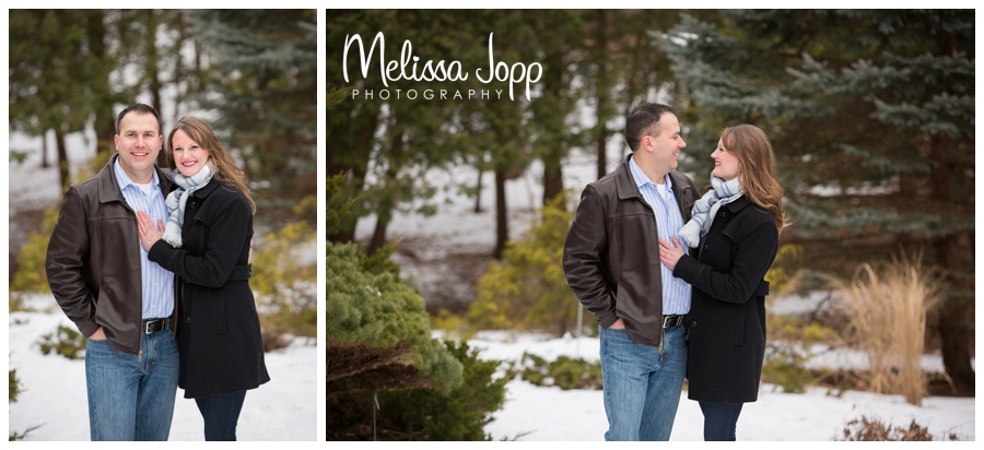 chanhassen mn wedding and engagement photographer  winter engagement session