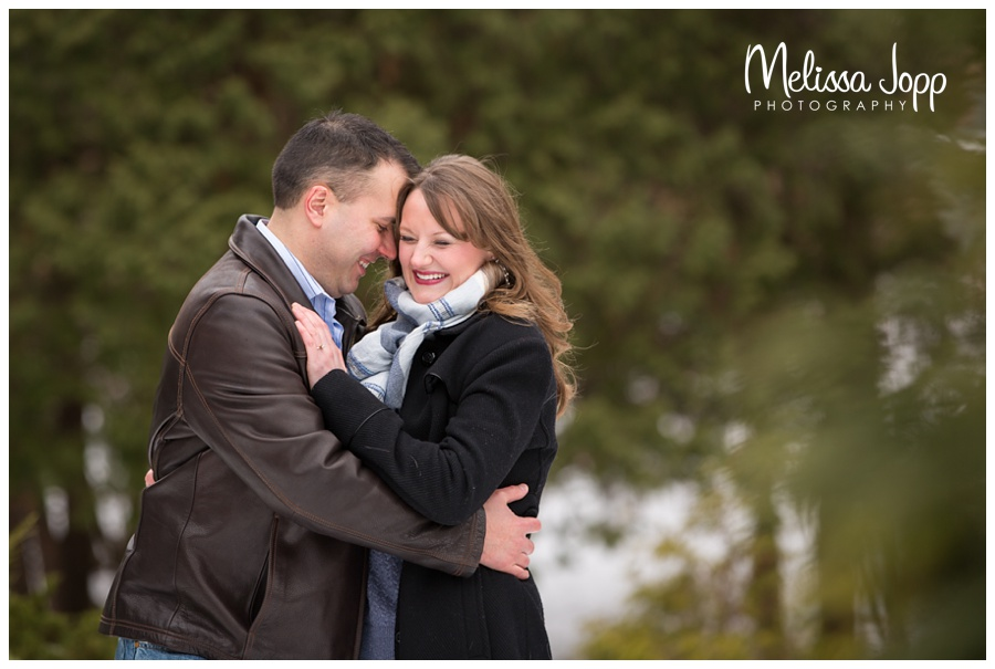 evergreens in engagement session chanhassen mn wedding photographer