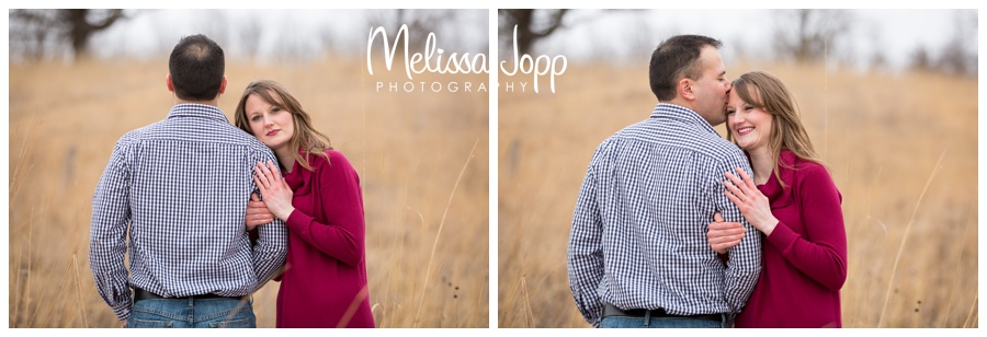 winter engagement session with chanhassen mn wedding and engagement photographer