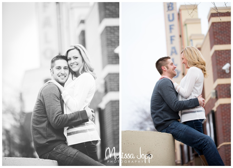 movie theater engagement session buffalo mn wedding and engagement photographer