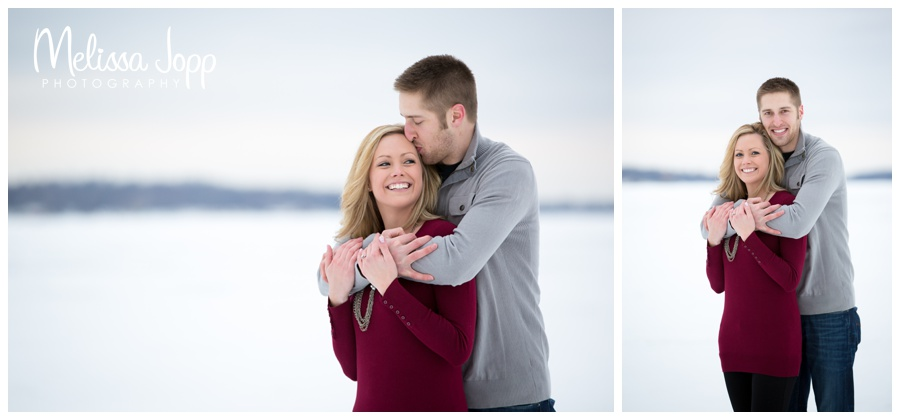 winter engagement session in buffalo mn with victoria mn wedding and engagement photographer
