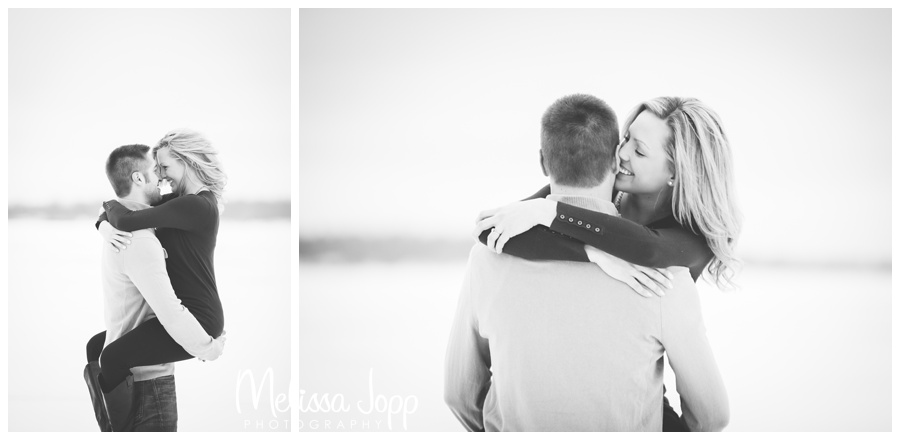 fun romantic engagement session with buffalo mn engagement and wedding photographer
