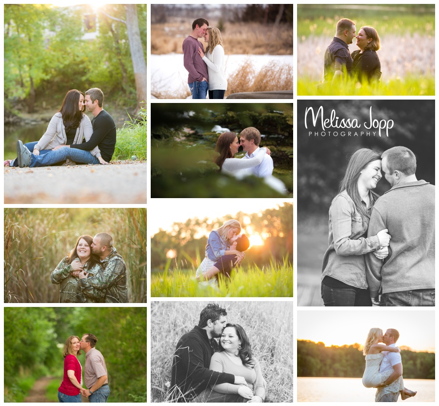 Favorite engagement sessions with Melissa Jopp Photography Victoria MN