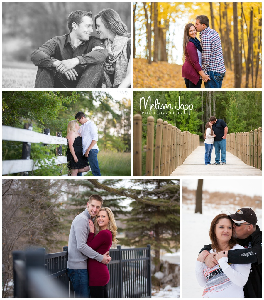 Unique engagement sessions with Melissa Jopp Photography Victoria MN