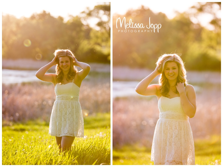 senior pictures at sunset with waconia mn senior photographer