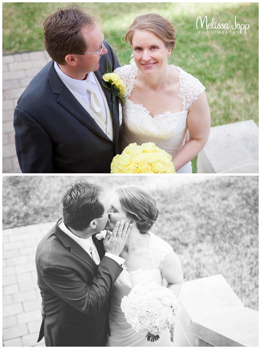 mn wedding photographer spring church wedding