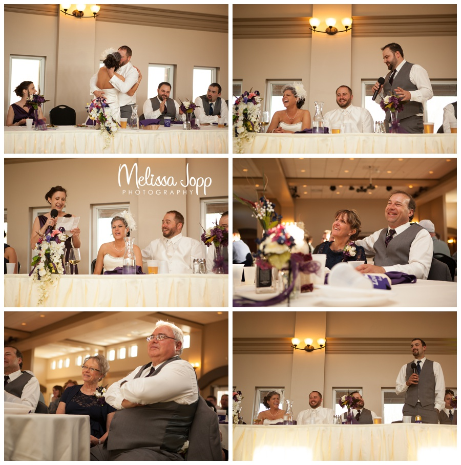 dinner speeches at crow river winery with wedding photographer near hutch mn