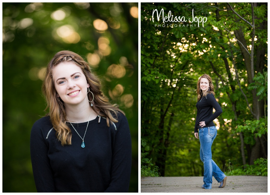 senior pictures by the lake with senior portrait photographer in chanhassen mn
