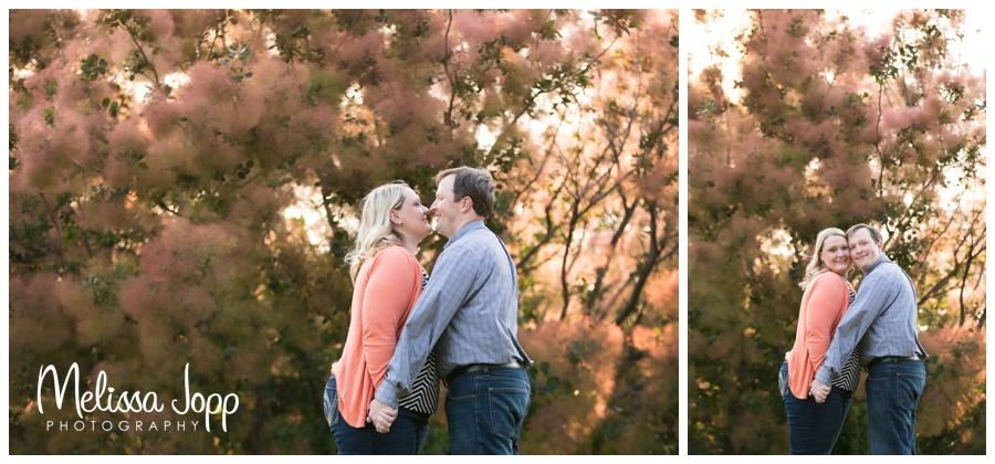 engagement pictures at the mn landscape arboretum