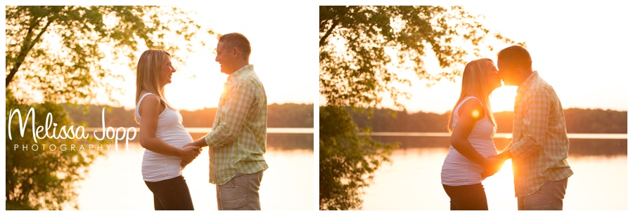 romantic maternity pictures with chanhassen mn maternity photographer
