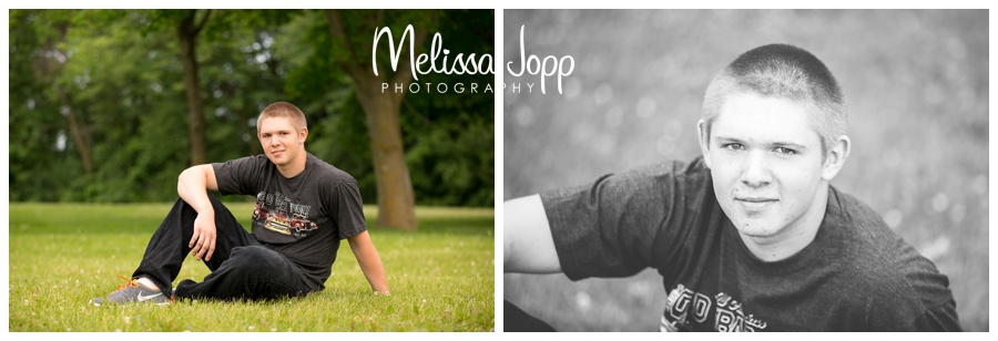 male senior portraits with Mayer MN photographer