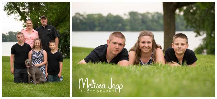 Baylor PArk outdoor family pictures norwood mn photographer