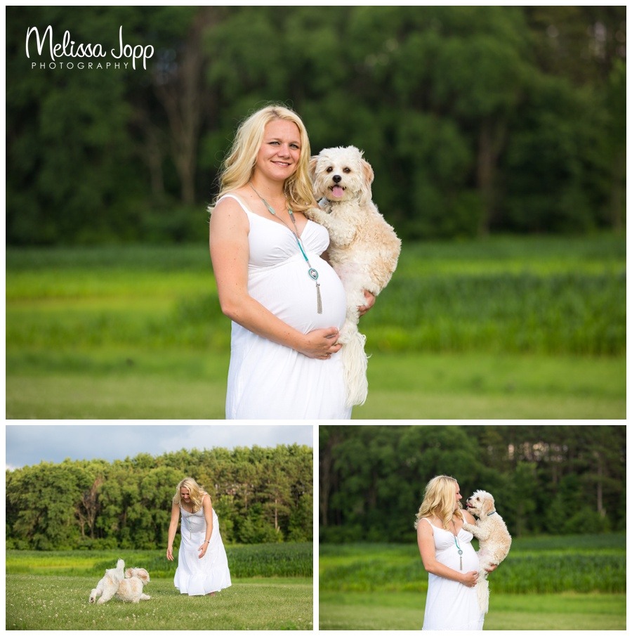 maternity pictures with dog waconia mn maternity pictures