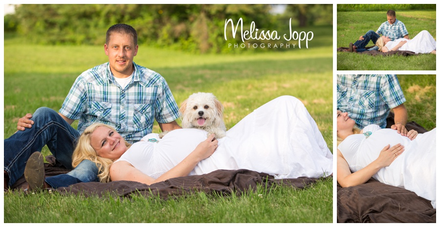 maternity pictures with dog waconia mn maternity photographer