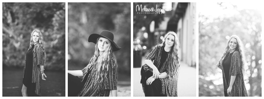 outdoor vintage and urban senior pictures in excelsior mn