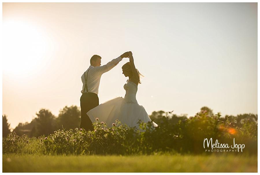 rustic outdoor wedding pictures in waconia mn