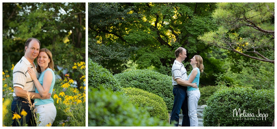 outdoor engagement session at sunset in chaska mn