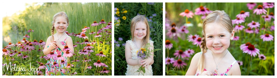 4 year old pictures with flowers chanhassen mn