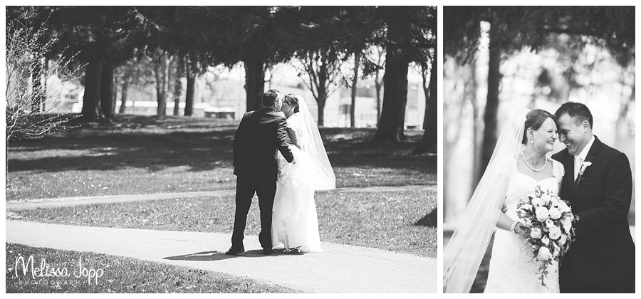 outdoor country wedding pictures winsted mn