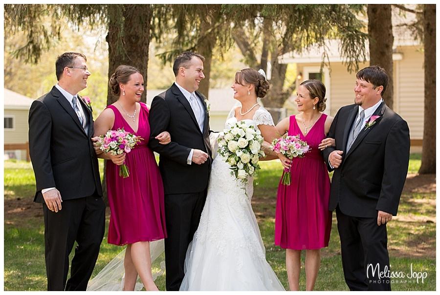 fun wedding party pictures southwest metro mn