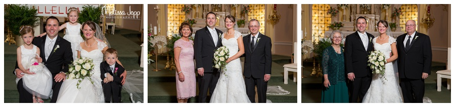church wedding pictures winsted mn