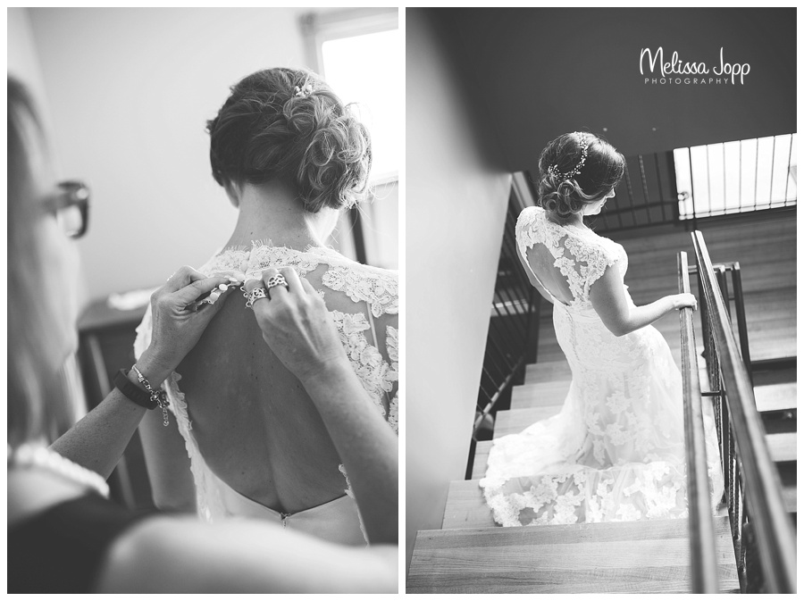 getting ready wedding pictures hutch mn