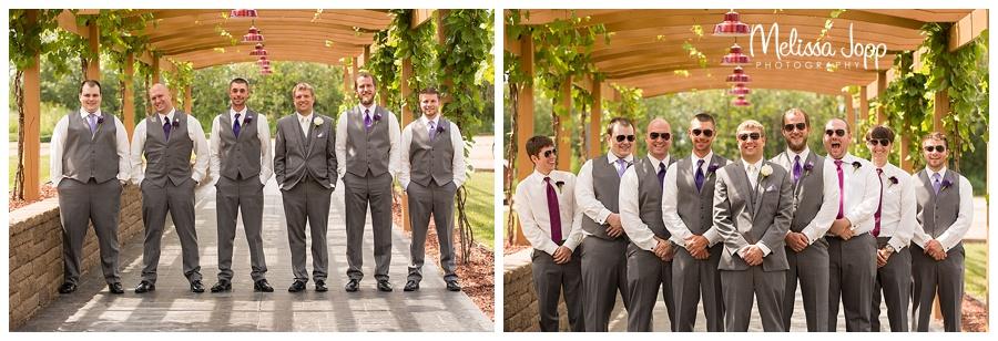 groomsmen wedding pictures hutchinson mn