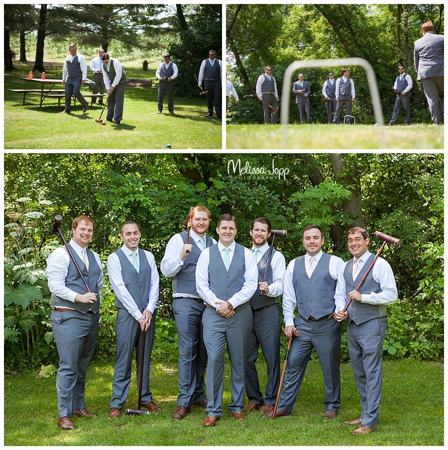 groomsmen before wedding minnetonka mn