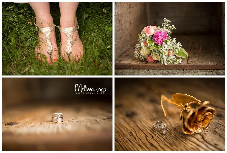 wedding detail photos minnetonka mn