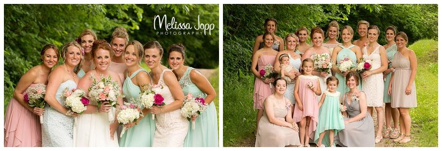 outdoor bridesmaid wedding pictures minnetonka mn