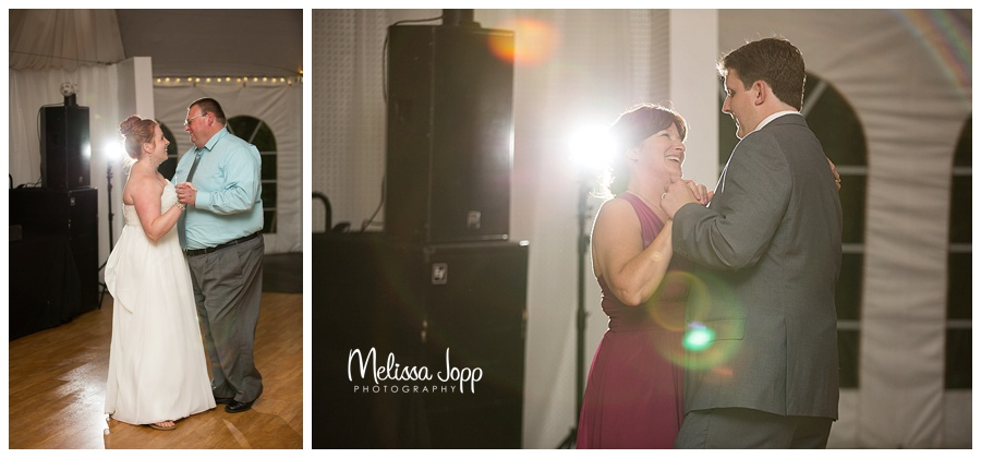 mother son and father daughter wedding dance minnetonka mn