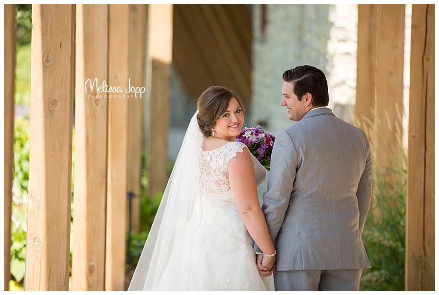 bride and groom outdoor wedding pictures chaska mn