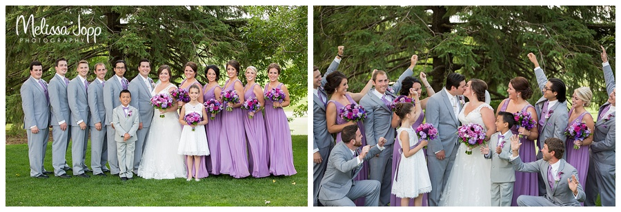 outdoor country wedding pictures chaska mn