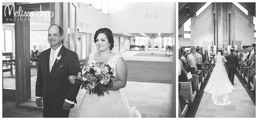 walking down the aisle wedding pictures waconia mn