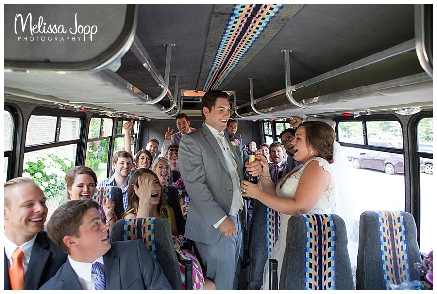party bus wedding pictures chaska mn