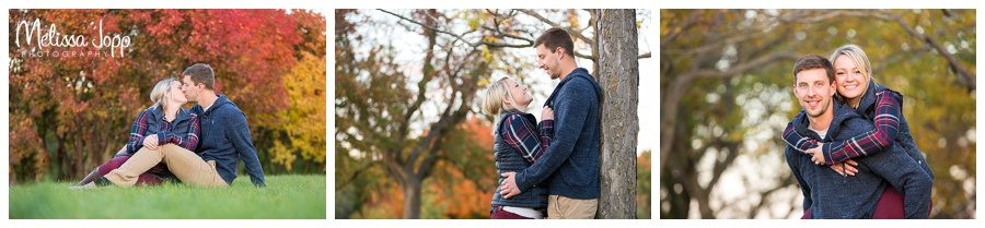 fall engagement pictures chaska mn
