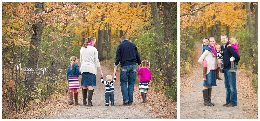 fall outdoor family pictures minnetonka mn