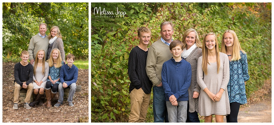 outdoor family pictures carver county mn