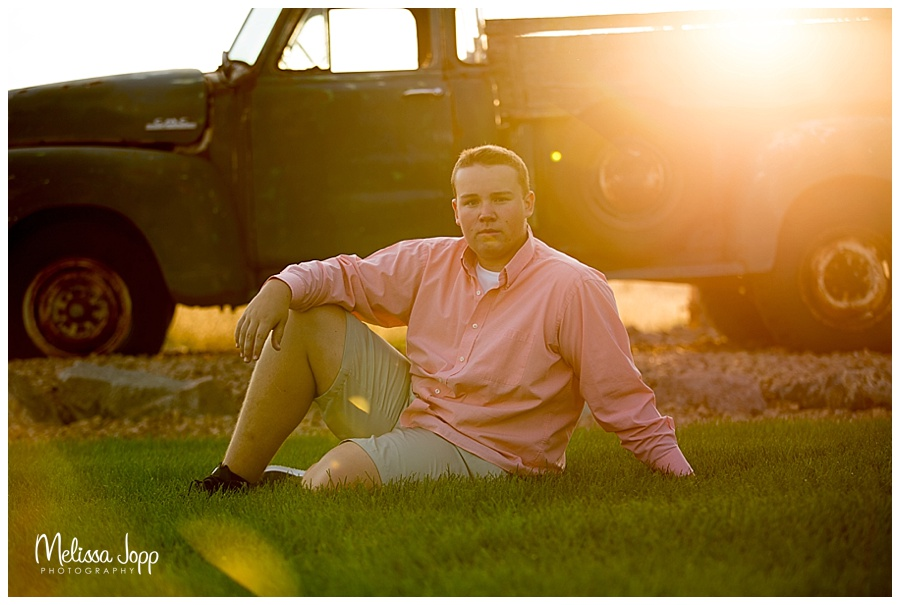 outdoor senior photo session cologne mn