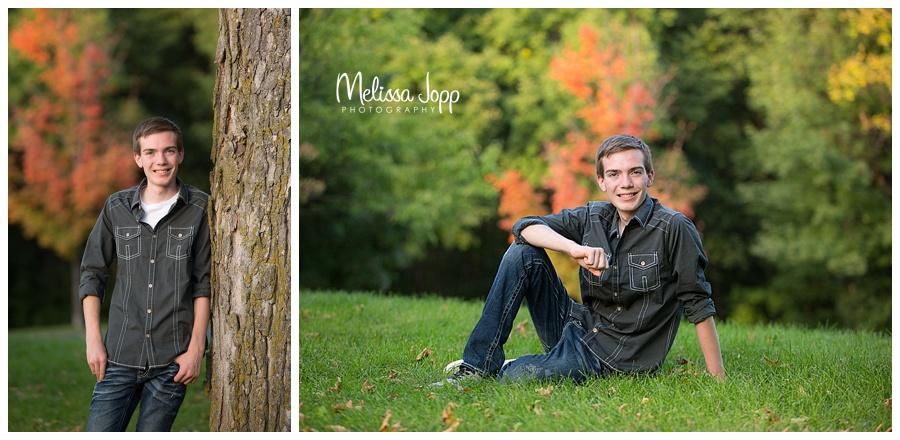 outdoor senior photo session chanhassen mn
