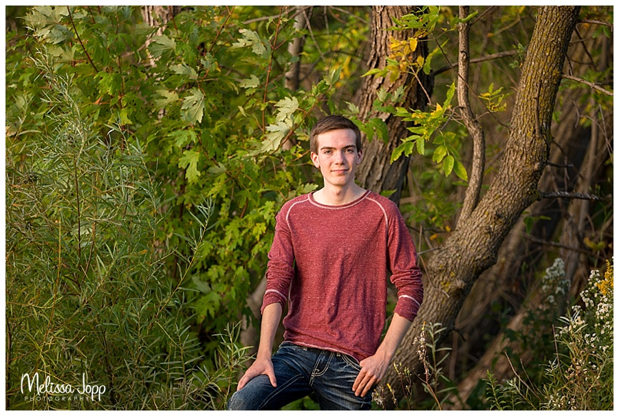 outdoor country male senior pictures chanhassen mn