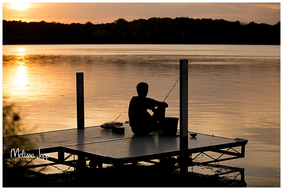 senior pictures fishing chanhassen mn