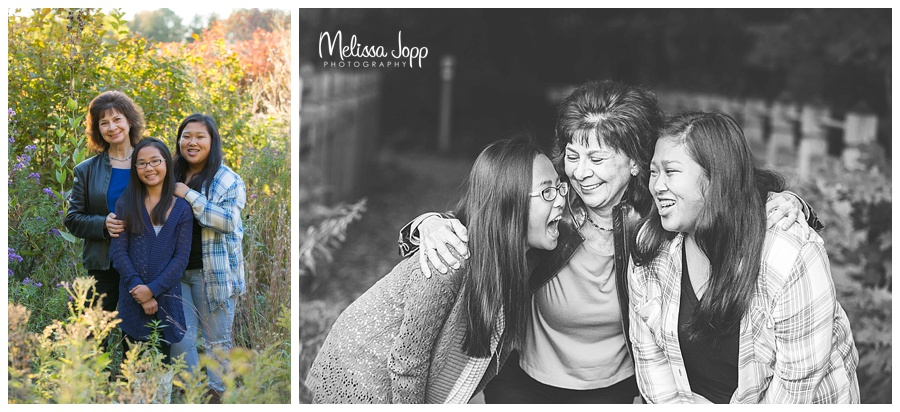 mom and daughter laughing picture chaska mn