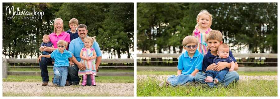outdoor country family photo session carver county mn