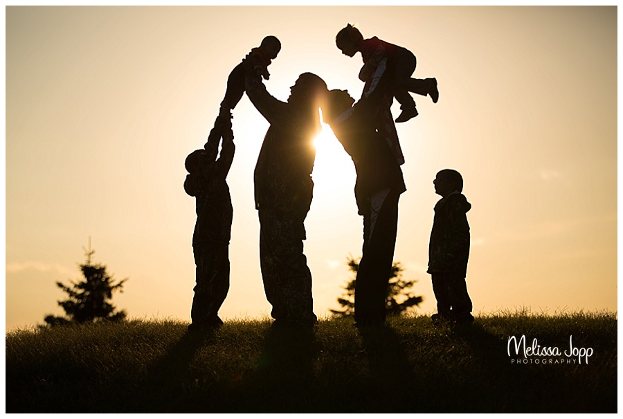 sunset family pictures carver county mn