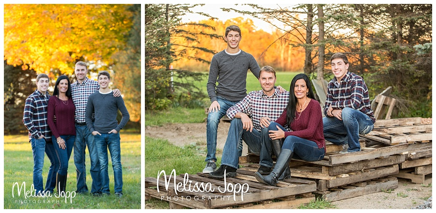 outdoor rustic family pictures watertown mn