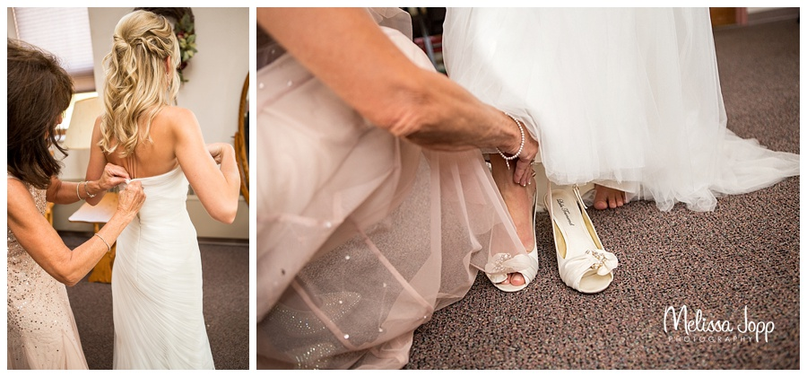 bride getting ready norwood young america mn
