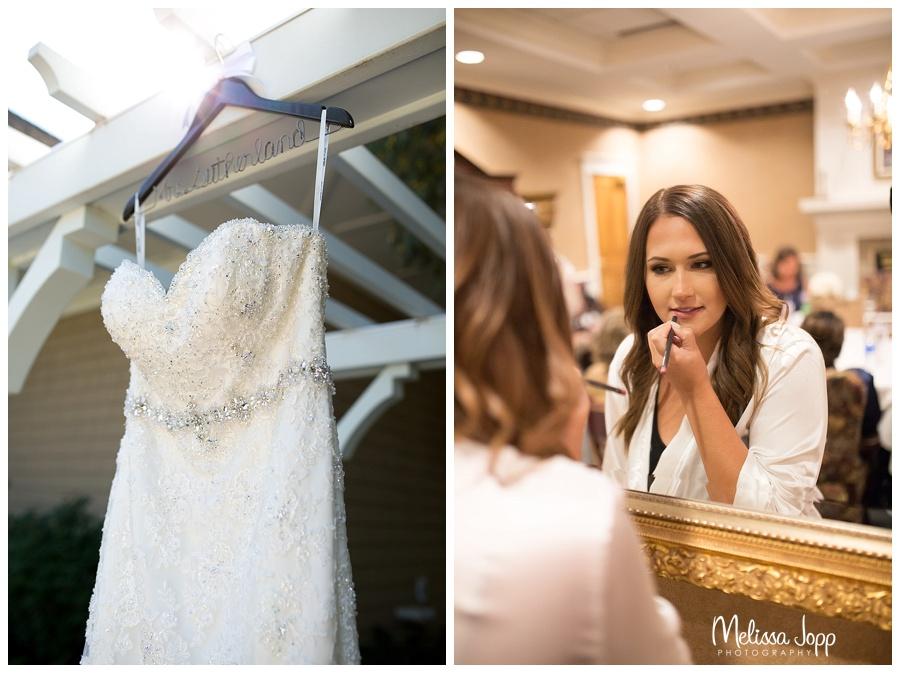 bride getting ready pictures eden prairie mn